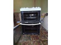 free standing electric cooker and hob