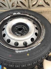 Brandnew tyre 215 /60/R16c on steel wheel £50