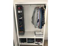 Open IKEA Wardrobe