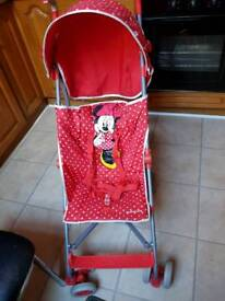 Minnie mouse push chair