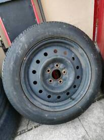 2 Tyres 5 stud