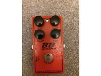 BB Preamp overdrive boost pedal by xotic. Tube screamer alternative.