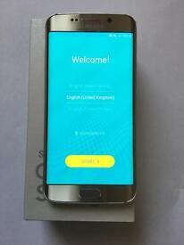 SAMSUNG S6 EDGE 64GB GOLD UNLOCKED GOOD CONDITION