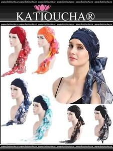 PREFORMED SCARF,TURBAN,BEANIE,WIG,HEADWRAP,BONNET...Ideal for Hair Loss,Alopecia,Chemotherapy,fighting cancer...