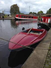 Speed boat or fun camping trips etc