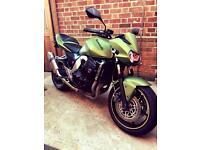 Kawasaki z750, 1 of 1 in Matt green, real head turner