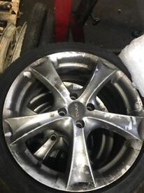 Dare alloy wheels 17 inch