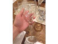 Wine glasses and Tumblers set