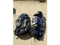 2 x large Rucksacks / backpacks - £20 each