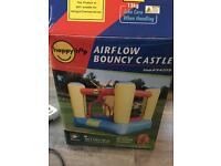 Kids airflow bouncy castle (outdoor use only)