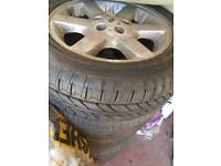 Land rover discovery alloy wheels with great tyres 5 of
