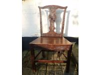 Old Oak Hall Chair