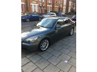 BMW E60 530d. FSH, Low Mileage, Diesel, Low tax, 5 Door, full leather and DVD Screens