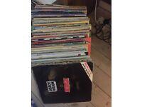 Just over 100 Reggae Lps,