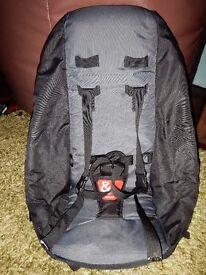 Phil & Teds Sport Doubles Kit / Second Seat Black