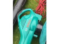 Bosh Garden Blower Vacuum And Shredder