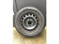 Ford spare wheel Continental tyre 195/55R15