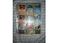 Old pokemon card collection. Vintage folder bundle