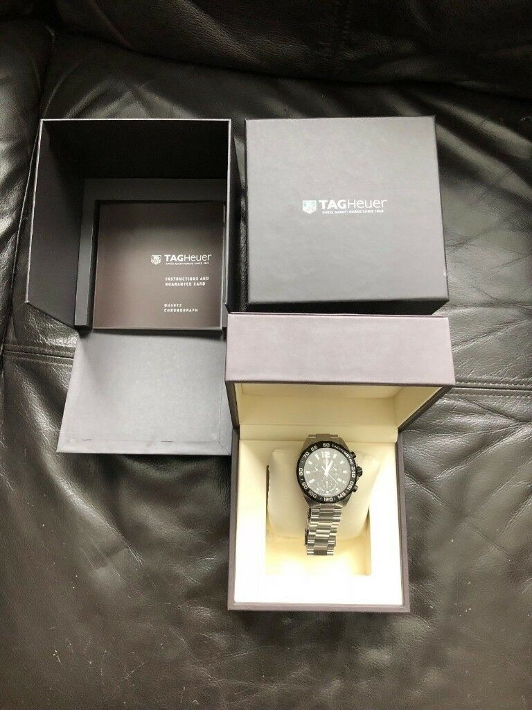 Gents Tag Heuer Formula 1 Watchin Sketty, Swansea - Stunning gents heavy duty stainless steel Tag Heuer Formula 1 Watch, Pre owned, excellant condition, only selling as looking to put the funds towards a Breitling £350ono