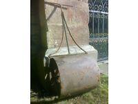 Vintage Old Garden Roller