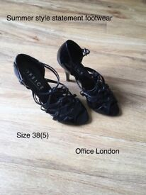 Summer footwear , Office London size 38 high heel sandals