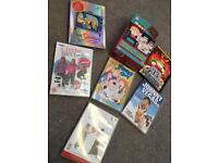 Selection of DVDs Simpsons, Family Guy, South Park, Little Britain
