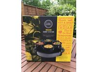 Indian curry station by global gourmet. Keeps food warm. Brand New. Never used.