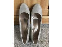 M&S - Glitter Heels (Size 6)