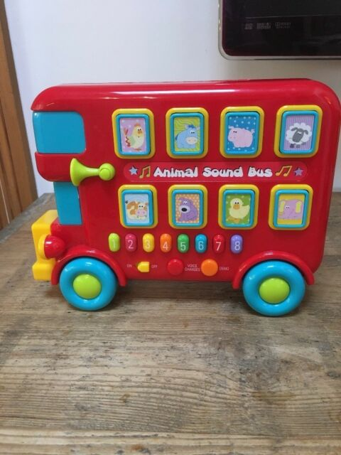 My First Carry Along Musical Sound Bus with Animal Sounds, Music & Songs    in Cheltenham, Gloucestershire   Gumtree