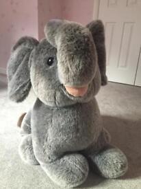 V. Large Elephant Soft Toy