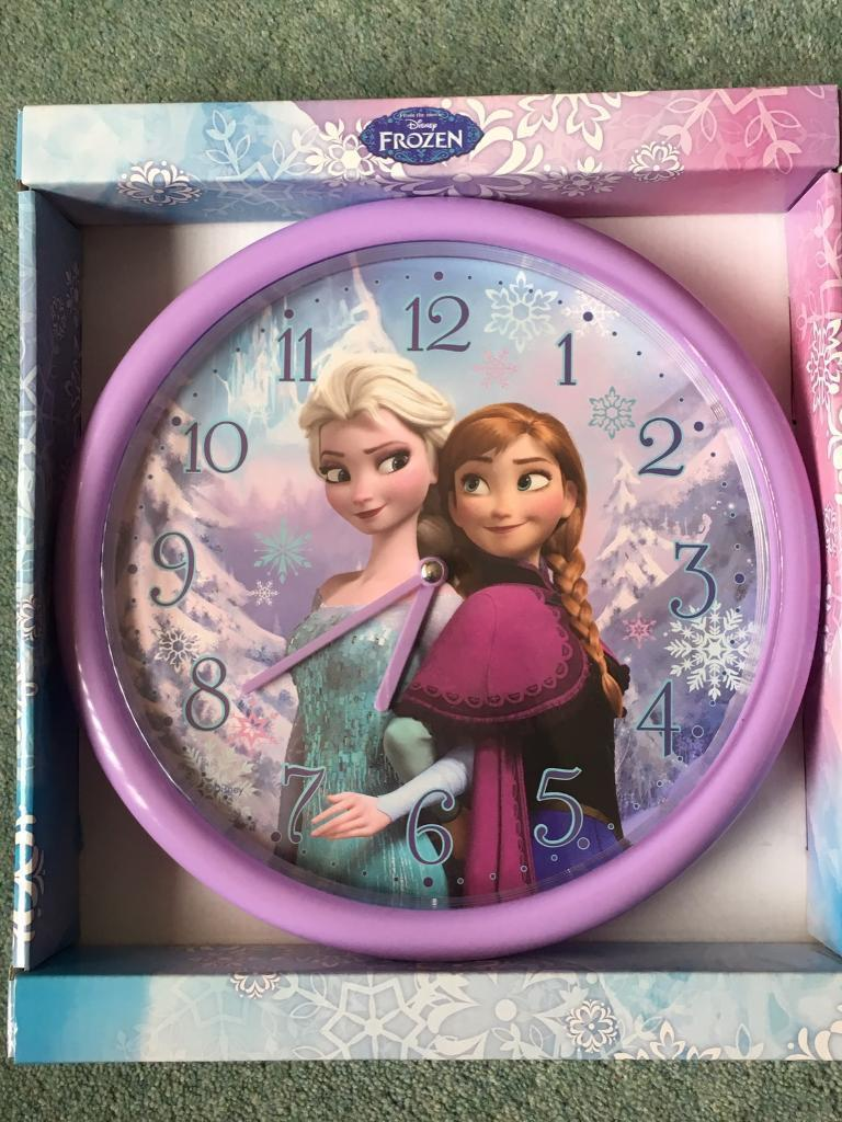 Child's Disney Wall Clock