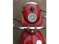 MOTORCYCLE JAMES COMET 100
