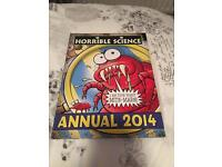 Horrible Science, dandy and simpsons annual books