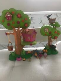 Mini lalaloopsy tree house