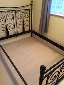 IKEA METAL BED