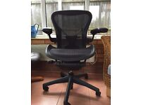 Herman Miller Aeron with posture fit Size B