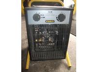 stanley 3kw garage/workshop heater