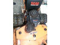 scag 48 swzt commercial mower with 15hp kawasaki fs541v engine like new toro john deere stihl kubota