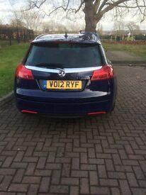 2012 12 plate Blue Vauxhall insignia 2.2 disel ellite estate