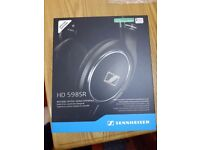 new sealed Genuine Sennheiser HD 598SR Over-Ear Headphone with Smart Remote