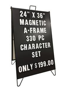 Magnetic Changeable Sidewalk Sign