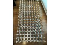 Wine rack 64 bottle (2 available) ready built