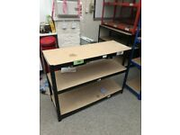 Garage unit racking shelving 120cm wide EXTRA HEAVY DUTY 200kg per shelf 3 SHELVES 6 available
