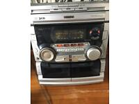Music Stereo with sound system