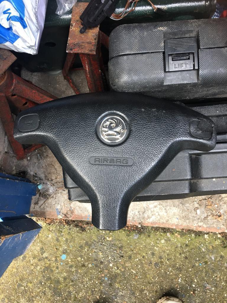 Vauxhall Astra G Mk4 steering wheel air bag