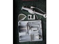 Braun hand blender with attachments. Variable speed.
