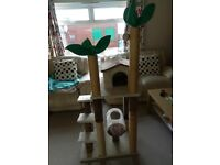 Cat tree/scratch post