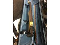Art v electric violin with case