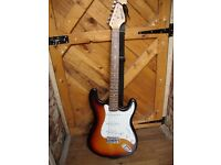Starsound Strat Style Electric Guitar.