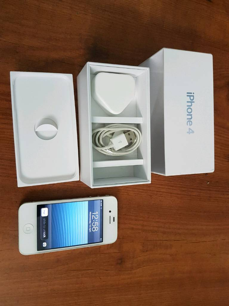 Iphone 4, boxed with chargerin Stoke on Trent, StaffordshireGumtree - Iphone 4, boxed with chargerO2/Giffgaff/Tesco networks£35. No offers. No swaps.Best price £35Last price £35Final price £35